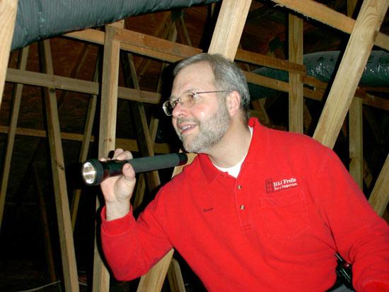 Steve Zimko of H&J Freile Home Inspection